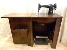 Antique Singer Sewing Machine And Cabinet Sewing Machine Cabinet Ebay