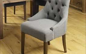 dining chair finest upholstered slope arm dining chair admirable