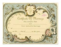 115 best wedding certificates images on pinterest wedding