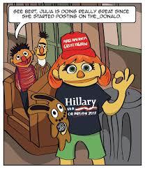 Sesame Street Memes - so i heard you guys like julia from sesame street rebrn com