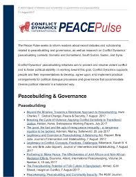 conflict dynamics international inc