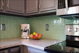 tile u0026 backsplash multi colored subway tile backsplash mint