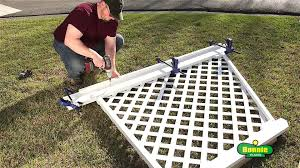 how to build a simple corner trellis youtube