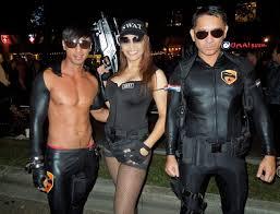 Swat Team Halloween Costumes Sexier Side West Hollywood U0027s Halloween Carnaval Jason