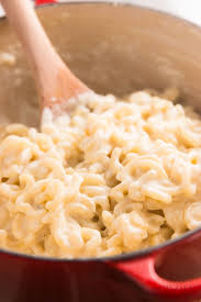 creamy one pot stovetop mac and cheese recipe