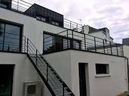 garde corps bois escalier interieur garde corps rampes et rambardes art métal concept quimper