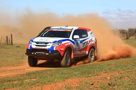 isuzu mu x engineered in sydney for dakar rally in 2015 photos