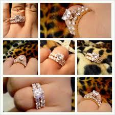 Fashion Nexus A Fashion Blog by Diamond Nexus Blog A Customer Collage Of Her Engagement Ring Set