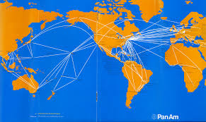Delta Airlines Route Map by Route Map 1971 Pan American World Airways Timetables