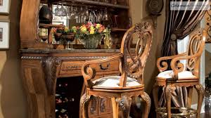 Michael Amini Dining Room Furniture by Eden Bar Room Collection From Aico Furniture Youtube