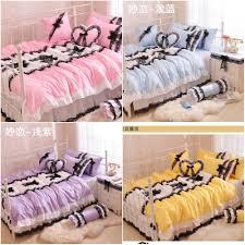 Waterfall Comforter Bedroom Wonderful Ruffle Comforter For Excellent Bedding Design