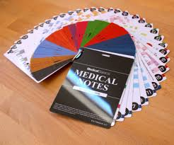 medical notes 67 medical reference cards for internal medicine