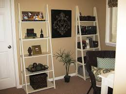 bookcases with ladder decorative ladder shelves display