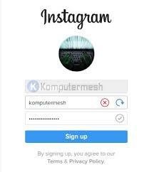buat akun instagram via operamini cara membuat akun instagram baru di semua perangkat komputermesh