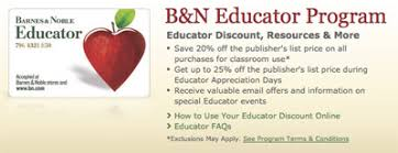 Barnes And Noble Shreveport Teacher Discount The Complete List Of 81 Teacher Discounts