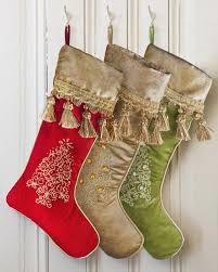 christmas stockings sale jeweled tree christmas stocking on sale now 19 00 balsam hill
