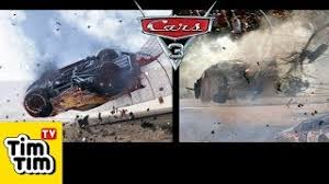 how to draw cars 3 lightning mcqueen crash scene easy step by