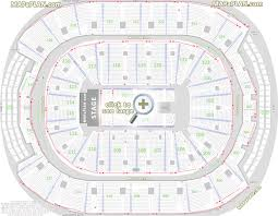 Centre Bell Floor Plan Toronto Air Canada Centre Seat U0026 Row Numbers Detailed Seating