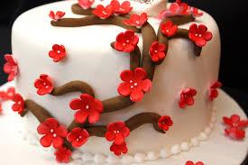 Wedding Anniversary Cake For Sister Complete Deelite Red