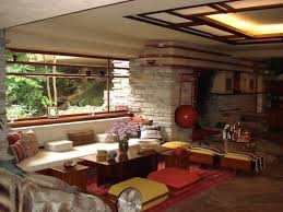 Falling Water Interior Guest Room Furniture Ideas Frank Lloyd Wright Falling Water House