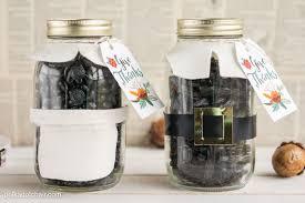 Mason Jar Home Decor Ideas Thanksgiving Mason Jar Gift Idea The Polka Dot Chair
