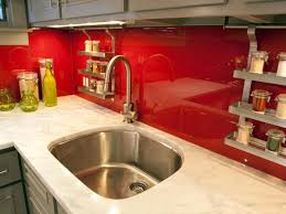 red tile backsplash kitchen glass tile backsplash ideas pictures u0026 tips from hgtv hgtv