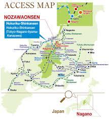 Narita Airport Map Nozawa Kiriya Direction