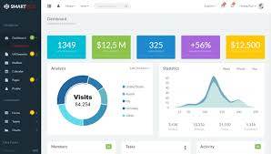 smartbox bootstrap admin dashboard template