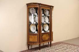Corner Display Cabinet With Glass Doors Curio Cabinet Vintageornerurioabinet Remarkable Imageoncept