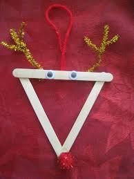 kid made ornaments teach beside me