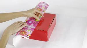 wrapped gift box 4 ways to wrap a present wikihow