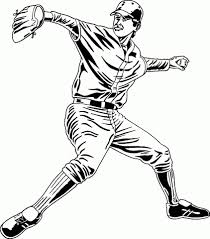get this baseball coloring pages free 95663
