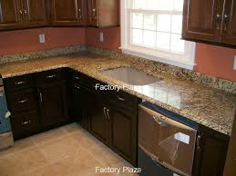 giallo fiorito granite with oak cabinets 4 inch backsplash