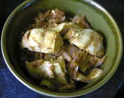 cuisiner coeur d artichaut quarts de coeurs d artichauts en sauce tomate parfumée eryn et sa