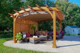 backyard pavilion plans ideas home outdoor decoration