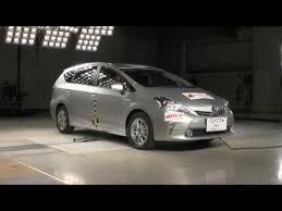 toyota prius v safety rating ancap toyota prius v 2012 onwards side crash test 5