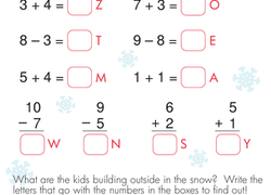 winter worksheets u0026 free printables education com