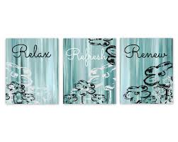 Bathroom Wall Decorations Bathroom Wall Decor Teal Bathroom Decor Aqua Bathroom Art