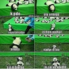 meme de panda we v anime amino
