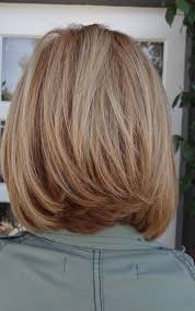 back view wavy short bob for thick hair 2015 12 pretty layered hairstyles for medium hair popular haircuts