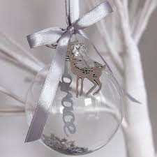 Baby S First Christmas Bauble With Name by Best 25 Christmas Baubles Ideas On Pinterest Diy Xmas