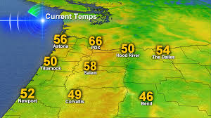 Map Of Portland A Rare Portland Vancouver Event Temperatures Refuse To Drop Even