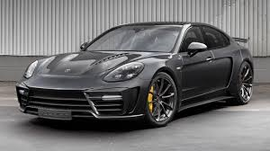 porsche black panamera this tuned panamera is called a stingray gtr top gear