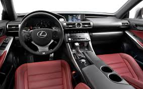 lexus interior color chart 2014 lexus is 250 f sport first test motor trend