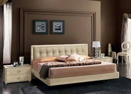 High Platform Beds Plano Ivory Platform Bed In High Gloss Lacquer Finish Northern