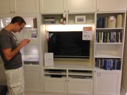 Ikea Wall Unit by Besta Ikea Hack Custom Look Built Ins With Style
