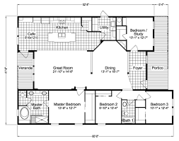 Floor Plans For Modular Homes View Casita Floor Plan For A 2162 Sq Ft Palm Harbor Manufactured
