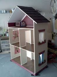 a doll house for her american dolls this one is pretty neat