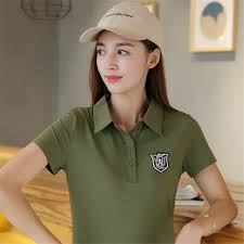 click to buy u003c u003c summer fashion army green embroidered badges polo