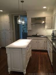 best benjamin primer for kitchen cabinets before after kitchen reno with painted cabinets home
